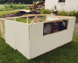 Chickshaw Build for chicken coop